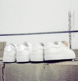 Wholesale Wholesale Shoes South Korea - South Korea white shoes summer autumn Korean flat lace dunk sports shoes casual shoes shoes shoes