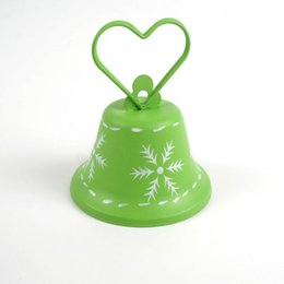 Wholesale Cheap Star Decorations - Christmas tree decorations 1pc green wind chimes Christmas bell for home cheap Christmas decoration for home free shipping <$18 no tracking