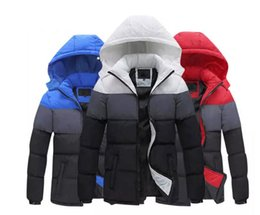 Wholesale Padded Hat - AD Mens Jackets men's outwear cotton blended coats even hat cotton padded jackets leisure thick coat 2017 new winter coats.33898