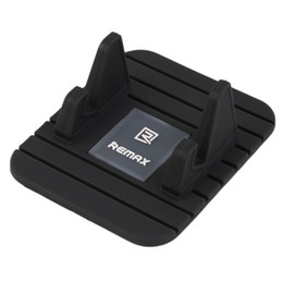 Wholesale Silicone Car Mats - Remax Universal Soft Silicone Car Holder Anti Slip Mat Holder Desktop Stand Bracket For Smart Phone GPS