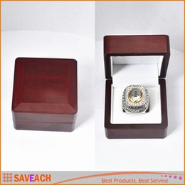 Wholesale Championship Boxing - Fashion Championship Rings Box 6.6*6.6*4.5cm, Red Box Retro Style Jewelry Box For Display, WITHOUT RING