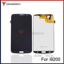 Wholesale Galaxy Mega Digitizer - For Samsung Galaxy Mega 6.3 i9200 i9205 LCD Display Touch Screen Digitizer Assembly Repair Repalcement