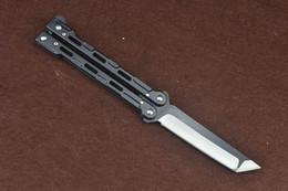 Wholesale 3cr13mov Knife - 201604 Butterfly Blisong BM Knife 3Cr13Mov Tanto Point Blade Full Steel Handle Tactical Knife 42 BM43 BM47 Survival Knife F106L