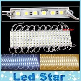 2019 diseño de módulos El alto brillo 6 LED SMD 5050 llevó el diseño impermeable del anuncio de los módulos LED llevados luz 12V 2.4W de los módulos diseño de módulos baratos