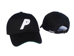 Wholesale Snapback High Quality - High Quality palace cap Outdoor Visor Strapback Black Green White Dark blue 6 panel snapback POLOs baseball hat