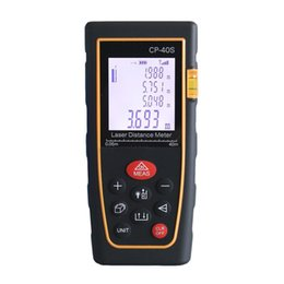 Wholesale Telemetro Laser - 40M Handheld Digital telemetro Laser distance meter Rangefinder Range finder Bubble level Tape measure Diastimeter medidor laser
