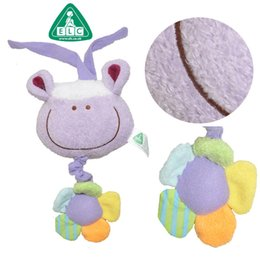 Wholesale Baby Donkey Toy - 2017 New 15cm cute animal mouse rabbit sheep cattle donkey pull music baby placate toy bed hang kids birthday gift