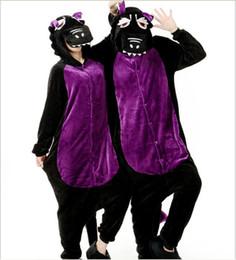 Wholesale Kigurumi Mascot Costume - Cartoon Animal Unisex Adult Flannel Onesies Onesie Pajamas Kigurumi Jumpsuit Hoodies Sleepwear Wholesale Order Mascot Costumes C009 SMLXL