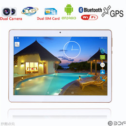 Wholesale Tablet Pc Gps Free Shipping - .Wholesale- 9.6 inch 3G 4G Lte Tablet pc Octa Core 4G RAM 32GB ROM Dual SIM Android 5.1 GPS 1280*800 IPS 9 10 Tablet+Gifts Free Shipping