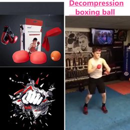 Wholesale Kids Body Stockings - Decompression Boxing Speed Ball with Gloves for both Training and Body Building Stress Relief Gym MMA Boxing Sports
