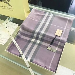 Wholesale Silver Shawls Wraps - wholesale soft Pure color winter Brand cashmere scarf Man and women Scarves Scarf Wrap Shawl Pashmina
