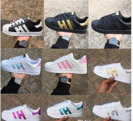 Wholesale Superstar Shoes - HOT NEW mens smith Casual shoes Superstar Female Flat Shoes Women Zapatillas Deportivas Mujer Lovers Sapatos Femin