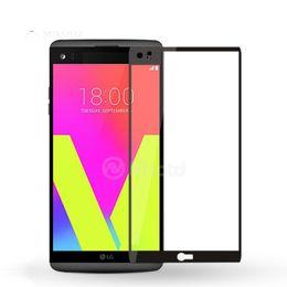 Wholesale Xperia Screen Protectors - For Nokia 2 3 5 6 8 6 2018 Xperia XA ULTRA XA1 XZ P XA1 ultra K6 NOTE 9H Full Cover Colorful Tempered Glass Screen Protector Glue Explosion