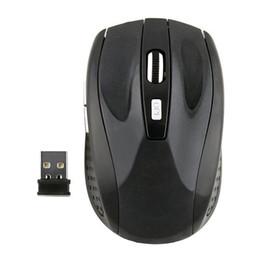 Moda 2.4 GHz USB Mouse Óptico Sem Fio Receptor USB Ratos Sem Fio Jogo Computador PC Portátil de