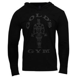 Mens Gym À Capuche À Manches Longues Bodybuilding À Capuche Hommes Costumes De Sport Débardeur Muscle Chemises Coton Assassins Creed Gold Gym ? partir de fabricateur