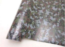 Autocollant de film protecteur de film de vinyle de voiture de camouflage numérique auto-adhésif avec des drains d'air 1.52 * 30m / rouleau avec gratte de film de cadeau gratuit ? partir de fabricateur