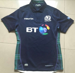 Wholesale Free Country - Free shipping! Rugby Union 2015 Rugby World Cup Scotland Country new jersey High-temperature heat transfer printing jersey Rugby Shirts