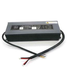2019 módulo actual 25A Corriente AC 190V-250V A DC 12V Transformador Impermeable 12V 300W Conductor Led Fuente de alimentación 12V Para tiras de LED / módulos rebajas módulo actual