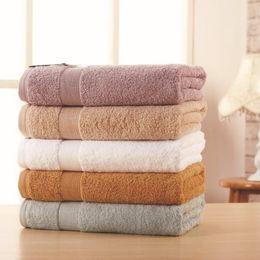 Wholesale Egyptian Towels - 70*140 500g Luxury Solid Thick Home Bath Towels Egyptian Cotton for Adults,Plain Pool SPA Terry Beach Towels,Serviette de Bain