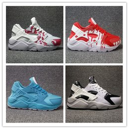 Wholesale Id 46 - 2017 Hot Sale Air Huarache iD Ultra Run Sports Shoes Men Women Huaraches Customise Running Shoes Trainer Sneakers Size 36-46