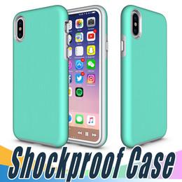 Caso per google nexus online-Per iPhone 8 Rugged Anti Skid Case Armor Hard Heavey Duty TPU Protezione Cover per iPhone 5 6 6s 7 7plus Google Pixel XL Nexus 6P 5X