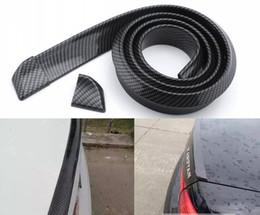 Wholesale Accessories Automotive - Quality 1.5M Carbon Fiber Universal Car Tail Spoiler Automotive Car Styling Accessories Exterior Auto Parts