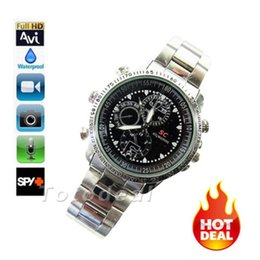 Wholesale Dvr Spycam - HD Wrist Watch Spy DV 8GB Video Spycam 1280*960 Hidden Camera DVR Waterproof Watch Camcorder