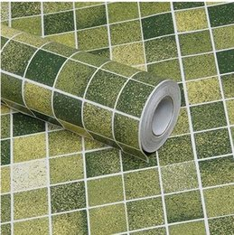 Wholesale Sounds Toilet - Mosaic waterproof self-adhesive wallpaper wall stickers bathroom toilet kitchen oil stickers cupboard area-515