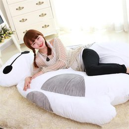 Wholesale Double Kids Sofa - Giant Big Hero 6 Baymax Plush Beanbag Bed Sofa Mattress Tatami Carpet 200cm X 150cm Double Sleeping Bag Nice Kids Gift