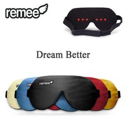 Wholesale Sleep Glasses - 100% Original Remee Remy Patch Dreams of Men & Women Dream Sleep Eyeshade Inception Dream Control Lucid Dream Smart Glasses