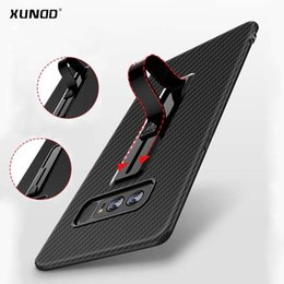 Wholesale Galaxy Ring Cases - Newest Xundd case for samsung galaxy note 8  galaxy s8 s8+ with hidden ring holder slim soft silicone back cover for iphone X