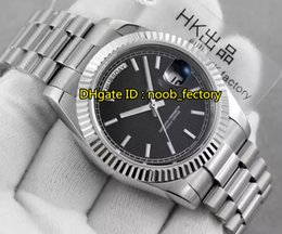 Wholesale Calibre Digital - New Luxury AAAAA High Quality Day Date Calibre 3255 Automatic Men's Watch 228239 Black Stripe Dial Stainless Steel Bracelet Gents Watches R2