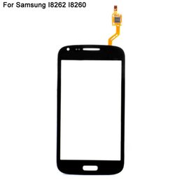 Wholesale Core I8262 - For Samsung Galaxy Core GT i8260 i8262 Touch Screen Digitizer With DUOS Logo Replacement Wholesale Cell Phone Repair Parts