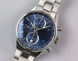 Wholesale Sapphire Crystal Automatic - cal.1887 automatic 7750 chronograph mechanical 41mm men watch sapphire crystal wristwatch HBBV6 V6 CAR2110.BA0720