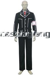 Wholesale Costumes Class - Wholesale-Hot Anime Vampire Knight Day Class Boy Zero Kiryu Cosplay Costumes Men Cosplay Clothing Free Ship