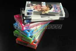 Wholesale PVC Retail package Universal Packaging box Plastic boxes for phone Case iphone S C SAMSUNG Galaxy note NO insert