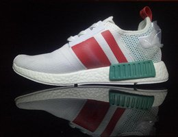 Wholesale Drop Shipping Shop - Drop shipping Cheap 2017 New NMD Runner Primeknit Running Shoes Fashion sports Sneakers for kids Free Shopping hot high quality us 36-45.