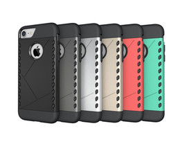 Wholesale Aegis Case - Ultra Slim Shockproof Aegis Hybrid TPU PC Armor Case for iphone7 plus appearance Double protection to drop