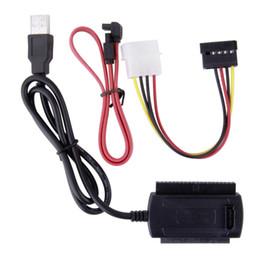 SATA / PATA / IDE Sürücü USB 2.0 Adaptör Dönüştürücü Kablosu 2.5 / 3.5 İnç Sabit Sürücü 2425 # nereden ide dönüştürücü kablo tedarikçiler
