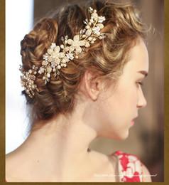 Wholesale Hairs Accesories - 2016 bride wedding accesories sparkles charm Crystal Rhinestone Wedding TS123