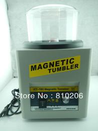 Argentina Envío al por mayor-libre! Vaso magnético KT-185. Mini vaso magnético, máquina pulidora con 100 g de pasadores magnéticos de forma gratuita cheap tumbler machine Suministro
