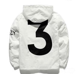 2019 chaqueta de viaje yeezus Y3 chaqueta hip hop KANYE tabla de skate YEEZUS Chaqueta cortaviento TOUR Chaquetas Hombres Mujeres Streetwear Moda Abrigos uniforme abrigo negro Blanco rebajas chaqueta de viaje yeezus