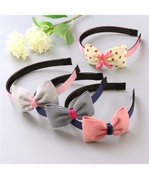 Wholesale Cute Headbands For Sale - Hot Sale Girls Hairbands Headwear Solid Color Hair Accessories Cute hair Bands Headbands for Children Girls Headwear
