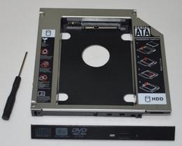 hdd gehäuse großhandel Rabatt Großhandels- 2. Festplatte HDD SSD Enclosure Caddy Adapter für Lenovo B475el B575el