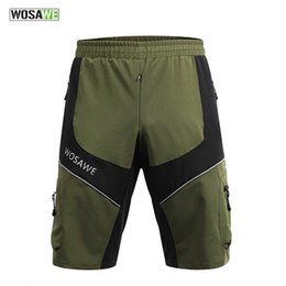 Wholesale Reflective Running Clothes - New Outdoor Sport Short Men Cycling Running Hiking Shorts Quick Dry Reflective Waterproof Army Green Casual Clothing K2075