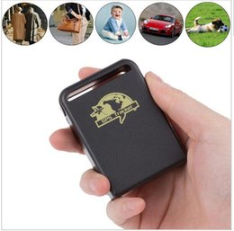 Wholesale Gps Tracking People - Mini GPS GSM GPRS Car Vehicle Tracker TK102B Realtime tracking device personal Track device for car people pets