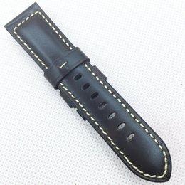 Guarda marrone marrone online-22mm 115mm / 75mm cinturino in pelle di vitello marrone rosso morbido di buona qualità di lusso per orologio PAM LUNMINOR RADIOMIR