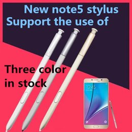 Wholesale Oem Pens - A quality 100% New OEM High Quality Stylus S Pen for NOTE5 PEN Touch PEN Screen Stylus For Galaxy NOTE 5 N920V N920F