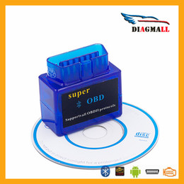 Wholesale New Model Suzuki - Super obd New version ELM327 Code Scanner Fault code clear tool obd2 obdii auto tool for all obd2 protocal model