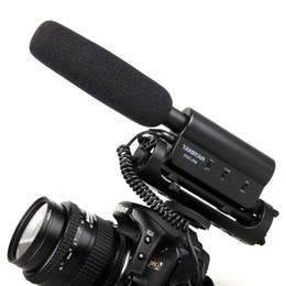 Wholesale Shockproof Dslr - TAKSTAR SGC-598, TAKSTAR SGC-598 Shockproof hotshoe Condenser Recording microphone mic for interview movie pickup for DV DSLR